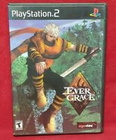 Ever Grace Evergrace PS2 Game Sony PlayStation 2 Complete w/ Registration Card
