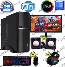 RAPID SLIM Gaming PC Core i5 8GB 240SSD GT710 WIN 10