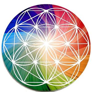 Crystal Energy Healing Grid Board. Manifest Your Goals Desires Dreams Protection