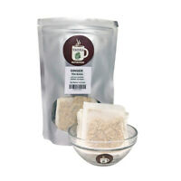 Premium Ginger Tea Bags 100% All-natural Ginger Roots Herbal Tea Cold and Flu