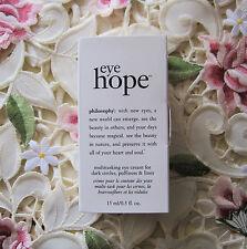 PHILOSOPHY~EYE HOPE Multi-tasking EYE CREAM~ .5 oz *NIB*