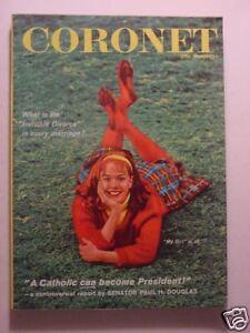 CORONET March 1959 DAN BUDNIK The Story Of JAZZ JOANNE WOODWARD