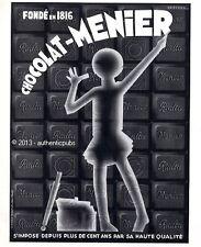 PUBLICITE CHOCOLAT MENIER RIALTA SIGNE HENCHOZ DE 1932 FRENCH AD CHOCOLATE PUB