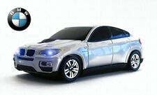 BMW X6 Wireless Car Mouse Silver-Officially Licensed-IDEAL FATHER'S DAY GIFT