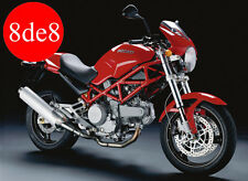 Ducati Monster 400 / 620 (2004) - Manual taller en CD (En inglés)
