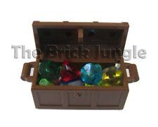 LEGO Treasure chest - jewel gems star city castle wars