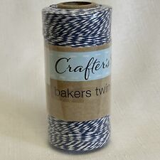 Bakers Twine Blue White 500 Feet 152.4m New Sealed Crafters Square