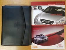 Genuino Kia CEE 'Owners Manual Manual Cartera 2006–2009 Pack D-129