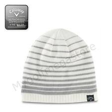 Callaway Golf Cappello Invernale Bianco Bianco/Grigio - Unisex - NUOVO