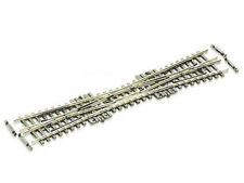 Peco SL-380F - einfache Kreuzungsweiche 10-Grad, Länge 154 mm, Code 55 - Spur N