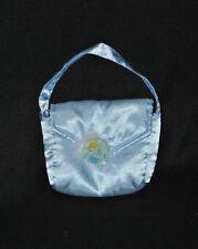 Doudou Peluche sac de princesse DISNEY bleu ciel 11*13 cm TTBE