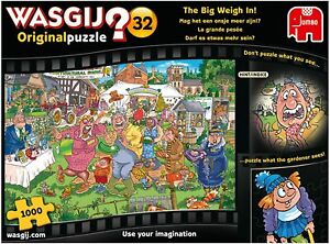Wasgij 1000 Piece Jigsaw Original 32 The Big Weigh In Puzzle Jumbo