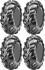 Four 4 CST Wild Thang ATV Tires Set 2 Front 25x8-12 & 2 Rear 25x10-12 CU05