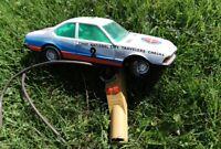 Joustra jouet en tole ancien BMW 633 CSI téléguidée France vers 1970