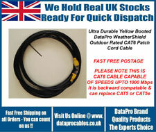 40M DataPro WeatherShield CAT6 External Outdoor Network Ethernet Patch Cable Sky