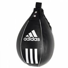 New adidas Leather boxing speed bag Striking Speedball Fitness Mma Punching Bag