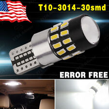 Canbus T10 30SMD Super White Projector LED Light High Power W5W 2825 194 192 158