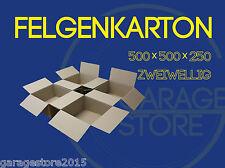 """4 x Felgenkarton für Felgen Verpackung Karton 2-wellig  für 15"""" 16"""" 17"""" 18Zoll"""