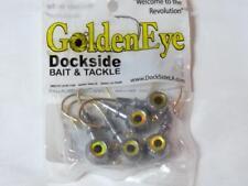 Dockside Golden Eye Saltwater Jig Head 1/2 oz. Fishing Tackle New In Package