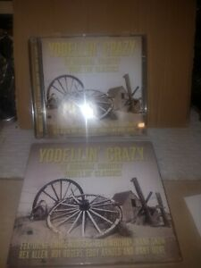COUNTRY MUSIC, YODELLIN' CRAZY, 25 YODELLIN' CLASSICS, VARIOUS ARTISTS,CD (2005)