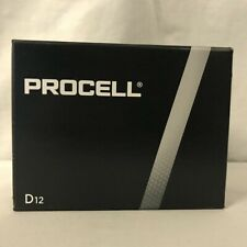 12 New D Procell Alkaline Batteries by Duracell PC1300 EXP 2026