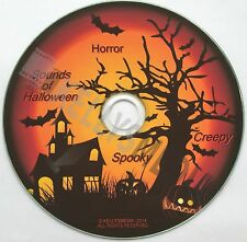 HALLOWEEN SOUNDS - SCARY PARTY SOUNDTRACK CD - SPOOKY * HORROR * CREEPY
