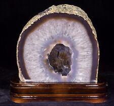 10Lbs Agate Geode Crystal Quartz Polished Druzy Specimen Cluster - Brazil