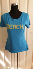 Women's Girl's Retro Bench T-Shirt With Raiseable Back Size L Aprox 10-12 UK
