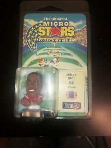 Original MICRO STARS Collector's Series JERRY RICE San Francisco 49ers 1994 NEW