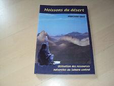 livre MOISSONS DU DESERT