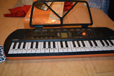Casio Sa-76 44-Key Mini Keyboard With 100 Tones 50 Rhythms And Built-in Speakers