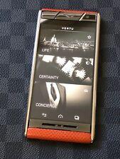 2f1bdefcb Genuine Vertu Aster TANGERINE KARUNG Extremely RARE Unlocked GSM Luxury  Phone