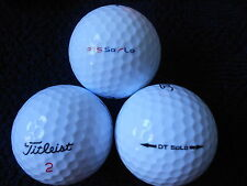 "40 TITLEIST - ""DT/PTS SOLO""  - Golf Balls - ""PEARL/A"" Grades."