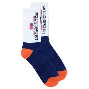 Polo Ralph Lauren Women's Sport Color Block Crew Socks