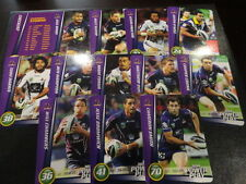 2014 NRL POWER PLAY TEAM SET OF 13 CARDS MELBOURNE STORM