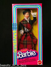 Scottish Barbie Doll First Edition 1st Series Dolls of the World Scotland 1980