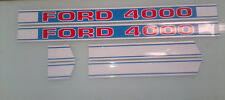 Ford 4000 Hood Decals