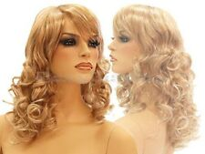Female Wig Mannequin Head Hair Long Wig #WG-C8448A