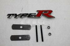 New Acura Honda Type R Front Grille Red Metal Emblem Badge Integra RSX Civic SI