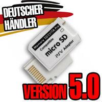 SD2VITA PRO 5.0 Speicherkarte Adapter PS VITA 3.60 + HENKAKU MicroSD Memory Card