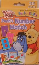Cards Learning Winnie The Pooh Numbers Match Educational Game Flash Deck