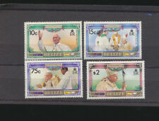 Christmas Pope John Paul II Belize # 694 - 697 Mint NH Cpl $4.70 Retail Value