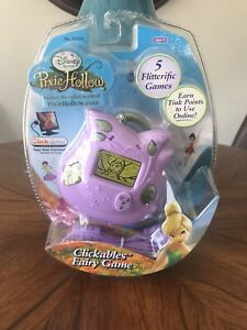 Disney Fairies Clickables Fairy Game-2008-Purple-New in Package