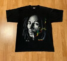 Vintage Bob Marley T-Shirt Size Men's XL Made In USA