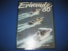 Evinrude Outboard Motor Sales Catalog with Price List 1980 - all 1980 Models