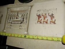 Dollhouse Egyptian wallpaper mural, tomb Library Den Museum type #2 1/12