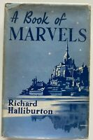 1937 1st Book Of Marvels, Richard Halliburton 105 plates free EXPRESS w/wide