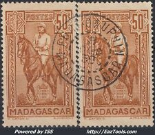 MADAGASCAR N° 190 AVEC CACHET DE FORT DAUPHIN A VOIR