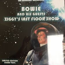 David Bowie 'Ziggys Last Floor Show New Clear Vinyl LP - New and Sealed