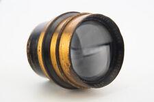 Antique Cooke Anastigmat 205mm f5.6 Series IV Large Format Brass Barrel Lens V06